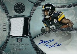 2013 Topps Five Star Rookie Autographed Patch 123 Markus Wheaton 260x185 Image