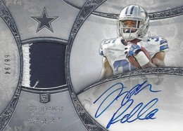 2013 Topps Five Star Rookie Autographed Patch 124 Joseph Randle 260x187 Image