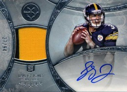 2013 Topps Five Star Rookie Autographed Patch 125 Landry Jones 260x189 Image