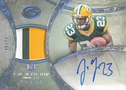 2013 Topps Five Star Rookie Autographed Patch 126 Johnathan Franklin 260x185 Image