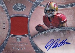 2013 Topps Five Star Rookie Autographed Patch 129 Stepfan Taylor 260x185 Image