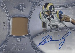 2013 Topps Five Star Rookie Autographed Patch 132 Stedman Bailey 260x183 Image