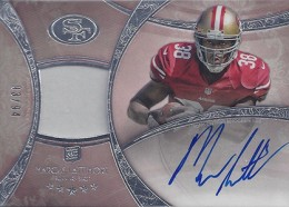 2013 Topps Five Star Rookie Autographed Patch 133 Marcus Lattimore 260x186 Image