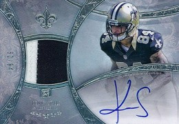 2013 Topps Five Star Rookie Autographed Patch 134 Kenny Stills 260x180 Image