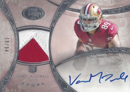 2013 Topps Five Star Rookie Autographed Patch 137 Vance McDonald 260x184 Image