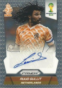 2014 Panini Prizm World Cup Autographs Auud Gullit
