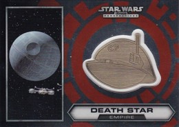 2014 Topps Star Wars Chrome Perspectives Helmet Medallions 28 Death Star 260x185 Image