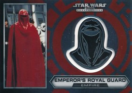 2014 Topps Star Wars Chrome Perspectives Helmet Medallions 29 Emperors Royal Guard 260x184 Image