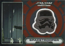 2014 Topps Star Wars Chrome Perspectives Helmet Medallions 5 Space Trooper 260x185 Image