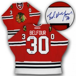 Ed Belfour Signed Jersey