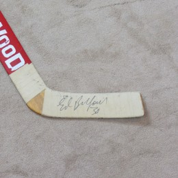 Ed Belfour Signed Stick