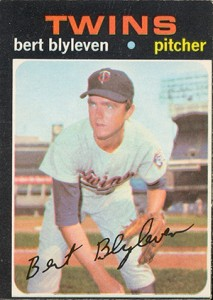 1971 O-Pee-Chee Bert Blyleven RC