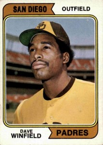 1974 Topps Dave Winfield RC 214x300 Image