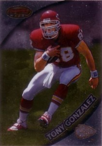 1997 Bowman's Best Tony Gonzalez RC