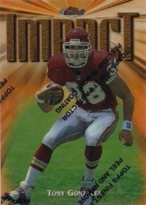 1997 Finest Tony Gonzalez RC