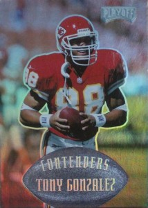 1997 Playoff Contenders Tony Gonzalez RC