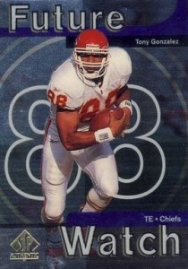 1997 SPA Tony Gonzalez RC