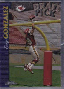1997 Topps Chrome Tony Gonzalez RC
