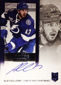 2013-14 Panini Contenders Hockey Rookie Ticket Autograph Variation 226 Alex Killorn