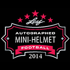 2014 Leaf Autographed Mini Helmet Football