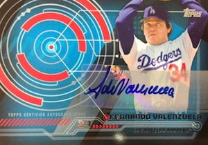 2014 Topps Series 2 Baseball Trajectory Autographs
