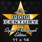 2014 Leaf Pop Century 11x14 Signed Photo Edition