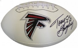 Tony Gonzalez Signed Football