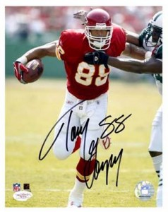 Tony Gonzalez Signed Photo