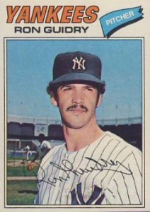 1977 Topps Ron Guidry