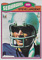 Steve Largent Cards, Rookie Card, Autographed Memorabilia Guide