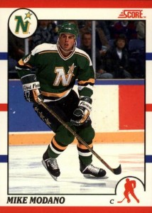 1990-91 Score Canadian Mike Modano RC