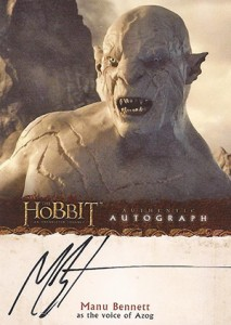 2014 Cryptozoic The Hobbit An Unexpected Journey Autographs A16 213x300 Image