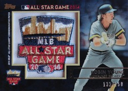 2014 Topps FanFest Patch Robin Yount 260x184 Image
