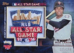 2014 Topps FanFest Patch Rod Carew 260x185 Image