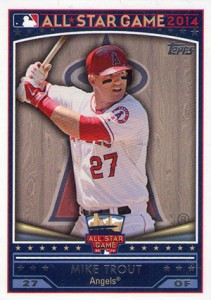 2014 Topps FanFest WR 01 Mike Trout 211x300 Image