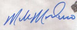 Mike Modano Signature Example