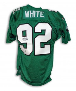 Reggie White Signed Jersey