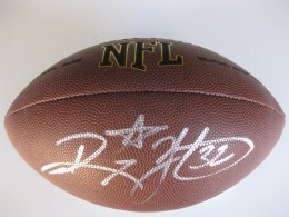Ricky Watter Signed Football