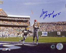 Steve Largent Signed Photo 260x208 Image