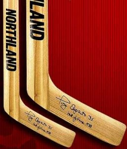 Tony Esposito Signed Stick 257x300 Image