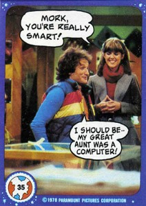 1978 Topps Mork and Mindy 35 212x300 Image