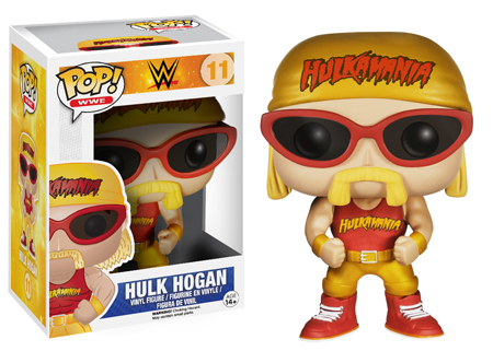 2014 Funko Pop WWE Series 2 11 Hulk Hogan