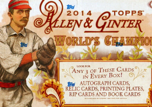 Win a 2014 Topps Allen and Ginter Hobby Box