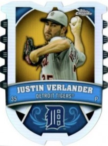 2014 Topps Chrome Baseball Connections Die-Cut Relics Verlander
