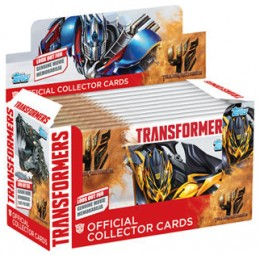 2014 Topps UK Transformers Collector Cards Box 260x255 Image