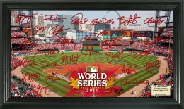 St Louis Cardinals Team Signed Photo