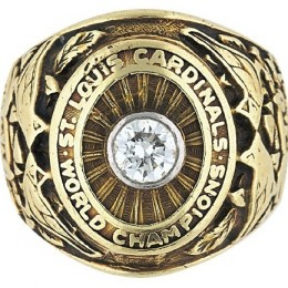 1942 St. Louis Cardinals World Series Ring