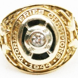 1944 St. Louis Cardinals World Series Ring