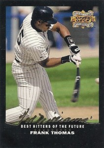 1993 Upper Deck Baseball Fifth Anniversary Frank Thomas 211x300 Image