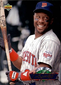 1993 Upper Deck Baseball On Deck Kirby Puckett 216x300 Image